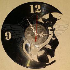 Vinyl Wall Clock CAT