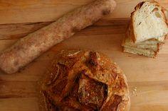 rustic bread (comparison of 3 recipes)