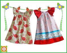 Cecilia patrón de costura para los niños, las niñas vestido de campesino patrón, niño, bebé, 12m-12y, pdf ebook, tutorial, niños