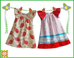 Cecilia Peasant Dress Pattern for Girls, Sewing PATTERNS for Children, Toddler, Baby, 12m-12y