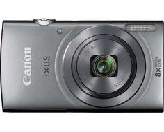 Canon Digitalkamera IXUS 160 20 Mio. Pixel Opt. Zoom: 8 x Silber