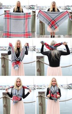 How-To-Tie-a-Square-Blanket-Scarf