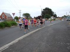 Mountain of Fun Run - Dunnstown just out of Ballarat - run and organised by a tiny school of just 20 families!