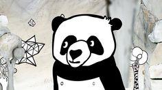 WANDERPANDA - trickfilmlounge, illustration, handdrawn, panda, nature