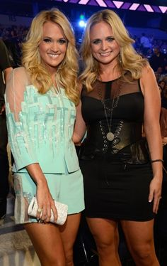 Carrie Underwood and Miranda Lambert... My two fave girls