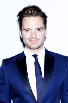 Seb Stan. Can someone knock me out? Just punch me in the face.