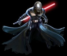 Darth Starkiller, formerly Galen Marek, was a Human male Sith Lord who served under the Galactic. Sith Armor, Jedi Sith, Sith Lord, Darth Sith, Star Wars Sith, Star Wars Rpg, Star Destroyer, Darth Starkiller, Galen Marek