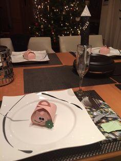 Tischdeko Silvester