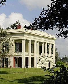 Architecture | American Greek Revival - Bocage Plantation, located in Darrow, Louisiana