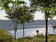 Blick auf den Stausee Hullern in der Hohen Mark bei Haltern am See