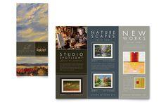 letterhead design ideas | Showcase an Art Gallery with Professional Design | Graphic Design ...