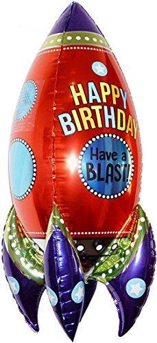 "HAPPY BIRTHDAY ROCKET 36"" ANTI-GRAVITY FLOATING TOY - Ama... https://www.amazon.com/dp/B06X3T8Y14/ref=cm_sw_r_pi_dp_x_9MP2zbYSQRY88"