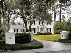 Wilmington Nc, Curb Appeal, Mansions, House Styles, Home Decor, Decoration Home, Manor Houses, Room Decor, Villas