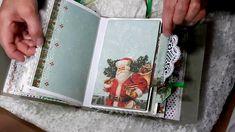 Art Journal Pages, Art Journals, Junk Journal, Journal Ideas, Daily Journal, Journal Inspiration, Christmas Mini Albums, Christmas Journal, Christmas Ideas