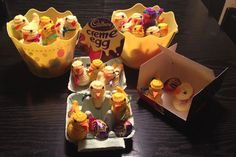 Knitted Chicks for #Cadbury #CremeEgg