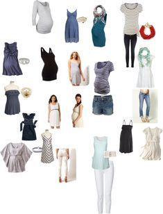 maternity what to wear, created by tina-i on Polyvore