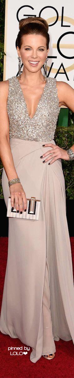 Kate Beckinsale in Elie Saab 2015 Golden Globe Awards | LOLO❤︎