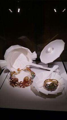 Collier e anello a forma di polpo