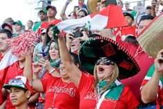 Fans and relatives of the Tijuana, Mexico Little League team cheer before a game between Tijuana and Perth, Australia in international pool play at the Little League World Series in South Williamsport on Thursday. (Gene J. Puskar/AP)
