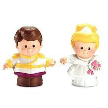 Fisher-Price - Little People - Disney Princess Cinderella & Prince Charming