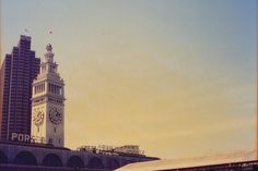 Ferry Building with my Olympus Trip 35 Olympus Trip, San Francisco Ferry, Things To Do, Dreams, Film, Building, Travel, Things To Make, Movie