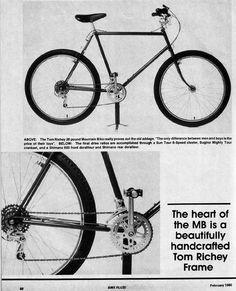 c795fa3d8 Old Mountain Bikes  Ritchey Mountain Bike Review - February 1980