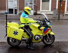 Ambulance on a Motorbike l Den Haag l The Hague l Dutch l The Netherlands