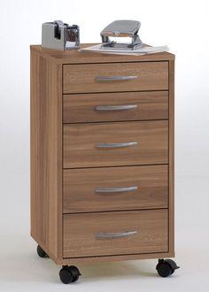 Rollcontainer Freddy Bürocontainer mit 5  Schubladen Zwetschge 8117. Buy now at https://www.moebel-wohnbar.de/rollcontainer-freddy-buerocontainer-mit-5-schubladen-zwetschge-8117.html
