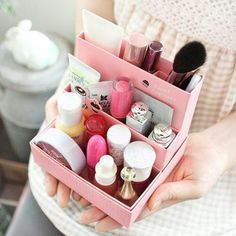 Desk Organizer ----> Makeup Storage Inspiration