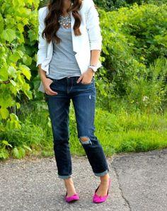 Jeans, camiseta + jeans