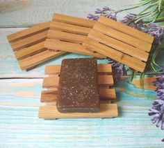 Diy Soap Tray, Wood Soap Dish, Soap Dishes, Wooden Workshops, Beeswax Polish, Soap Supplies, Tea Tree Essential Oil, Zero Waste, Rustic Wood