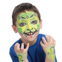 Maquillage enfant animaux - Pochoir maquillage Grim'Tout - Serpent