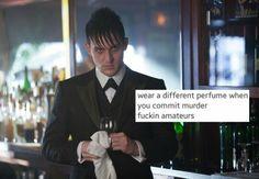 Gotham text post