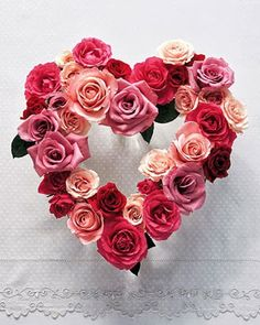 Rose heart...so pretty
