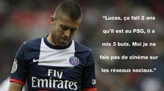 Jérémy Ménez allume Lucas Moura - http://www.actusports.fr/119161/jeremy-menez-allume-lucas-moura/