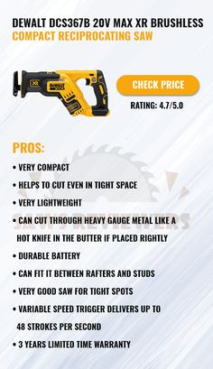 Reciprocating Saw, Drill, Compact, Tools, Hole Punch, Instruments, Drills, Drill Press