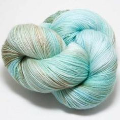 "Hedgehog Fibres Sock Yarn - Hill Country Weavers ""Seaglass"""