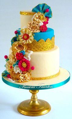 Bollywood style cake