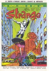 Strange 3 de Lug avec les X-Men, Iron Man, Daredevil et le Surfer d'Argent Ms Marvel, Captain Marvel, Iron Man Marvel, Joker Comic Book, Marvel Comic Books, Comic Books Art, Book Art, Stan Lee, Xmen
