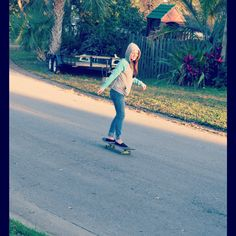 Skateboarding in Florida!
