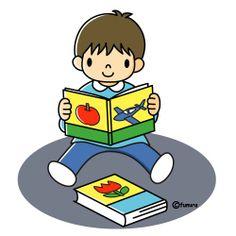 Jongen boekje lezen