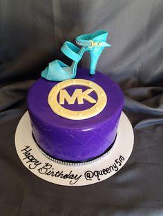Michael Kors cake. -M.K.
