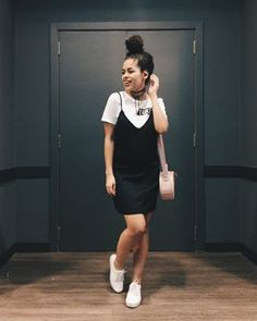 Black and White, se jogue nessa tendência - Guita Moda Girly Outfits, Casual Outfits, Summer Outfits, Cute Outfits, Fashion Outfits, Fashion Line, Fashion Looks, Look Star, Pinterest Fashion