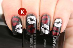 Week Of Love Valentine 39 S Nail Art Challenge Kisses Kerruticles