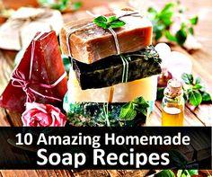 10 Amazing Homemade Soap Recipes & Tutorials