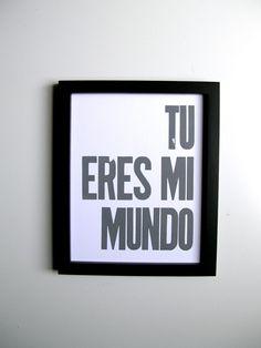 Mi todo...Te adoro.