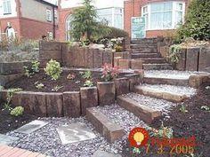 Sloped Garden Design
