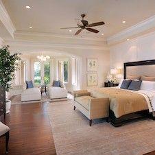 TRANSITIONAL Master Bedroom - Renée Gaddis Interiors Naples, Florida 239.431.8352