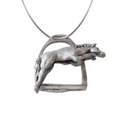 Stirrup horse jumper pendant from boticca.com   I love it!