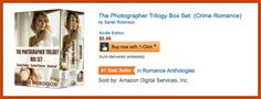 If you haven't #1clicked The Photographer Trilogy Boxset yet, you need to! It's only $0.99! Plus It's a #1 Romance Anthology and #4 Romantic Suspense on Amazon and it's sitting #9 in the entire Barnes & Noble store! #2 on Kobo for Mystery, Suspense, and Thrillers! Snatch it up now :D <3   Plus now it's #22 on Movers & Shakers!   Amazon - http://amzn.to/1zCGzj4 Barnes & Noble - http://bit.ly/1MtRKR5